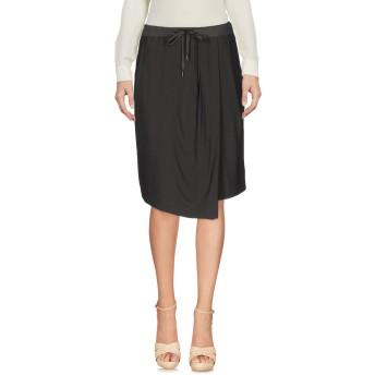 《セール開催中》FABIANA FILIPPI レディース ひざ丈スカート 鉛色 40 アセテート 52% / レーヨン 44% / ポリウレタン 4% / コットン