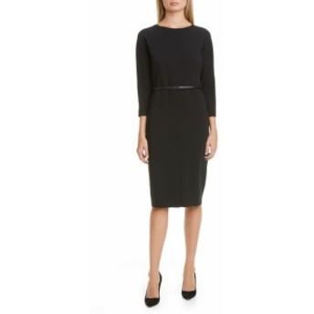 マックスマーラ MAX MARA レディース ワンピース ワンピース・ドレス Liriche Stretch Wool Dress Black