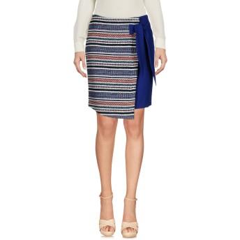 《セール開催中》HANITA レディース ひざ丈スカート ブルー 40 コットン 62% / ポリエステル 28% / アクリル 10%