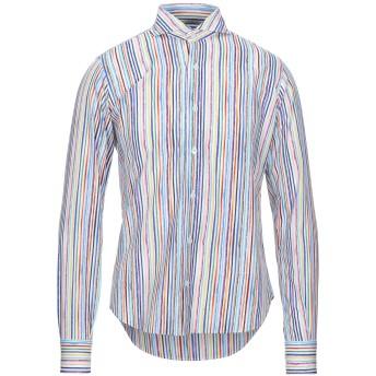 《セール開催中》ORIAN メンズ シャツ ホワイト 39 コットン 100%