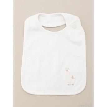 [ベビー]ワンポイントアニマル刺繍スタイ