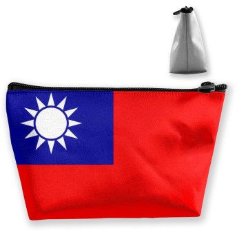 SHOUNA トイレタリーバッグ コスメポーチ トラベルポーチ Taiwan Flag 旅行用化粧ポーチ 洗面用具ポーチ 多機能 防水 大容量 化粧品入れ 小物整理 軽量 Taiwan Flag 旅行用品収納バッグ