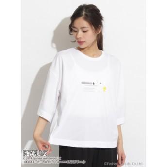 SNOOPY/スヌーピー 8ビットビッグシルエットTシャツ