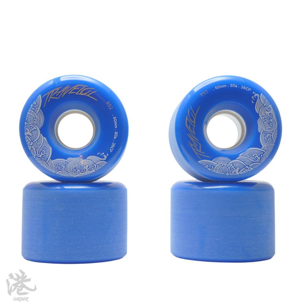 Travelol Wheels 長板輪 60mm/80a 藍色 【Harbor港】