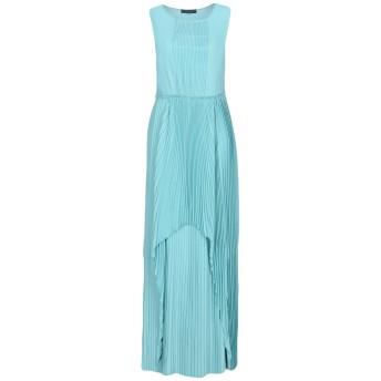 《セール開催中》TWINSET レディース ロングワンピース&ドレス スカイブルー M 100% ポリエステル