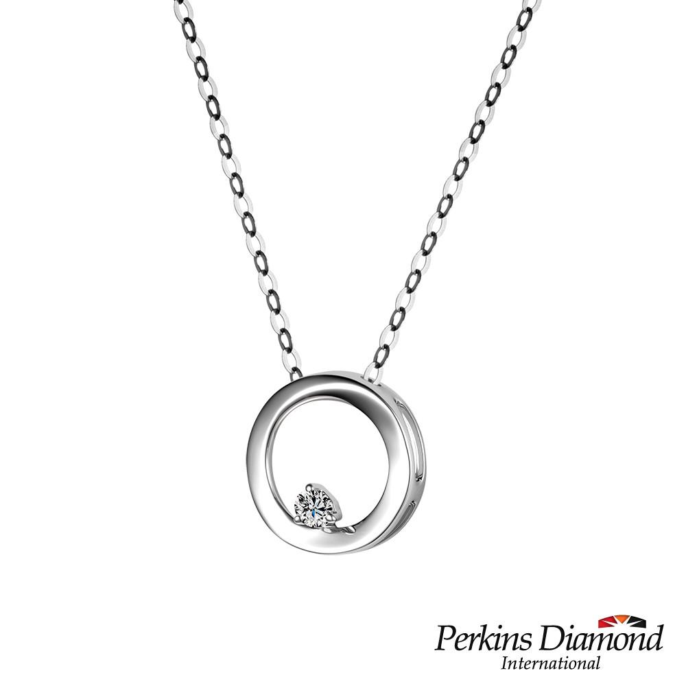 PERKINS 伯金仕 - Circle系列 18K金鑽石項鍊