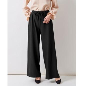 カットソーワイドパンツ(FIFTH) (大きいサイズレディース)パンツ, plus size pants
