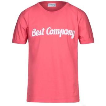 《セール開催中》BEST COMPANY メンズ T シャツ コーラル S コットン 100%