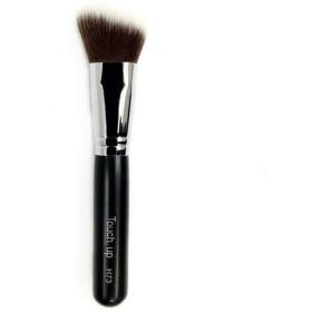 パウダーブラシ 山羊毛 化粧筆 チークブラシフェイスブラシ メイクアップブラシメイク (H73)