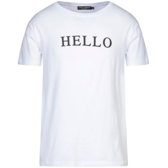《セール開催中》DOLCE & GABBANA メンズ T シャツ ホワイト 48 コットン 100%