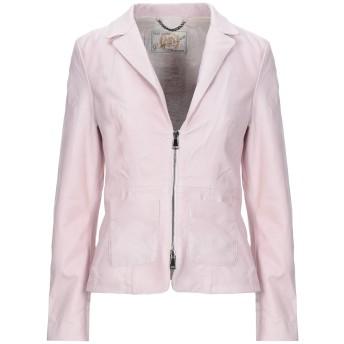 《セール開催中》VINTAGE DE LUXE レディース テーラードジャケット ピンク 42 革