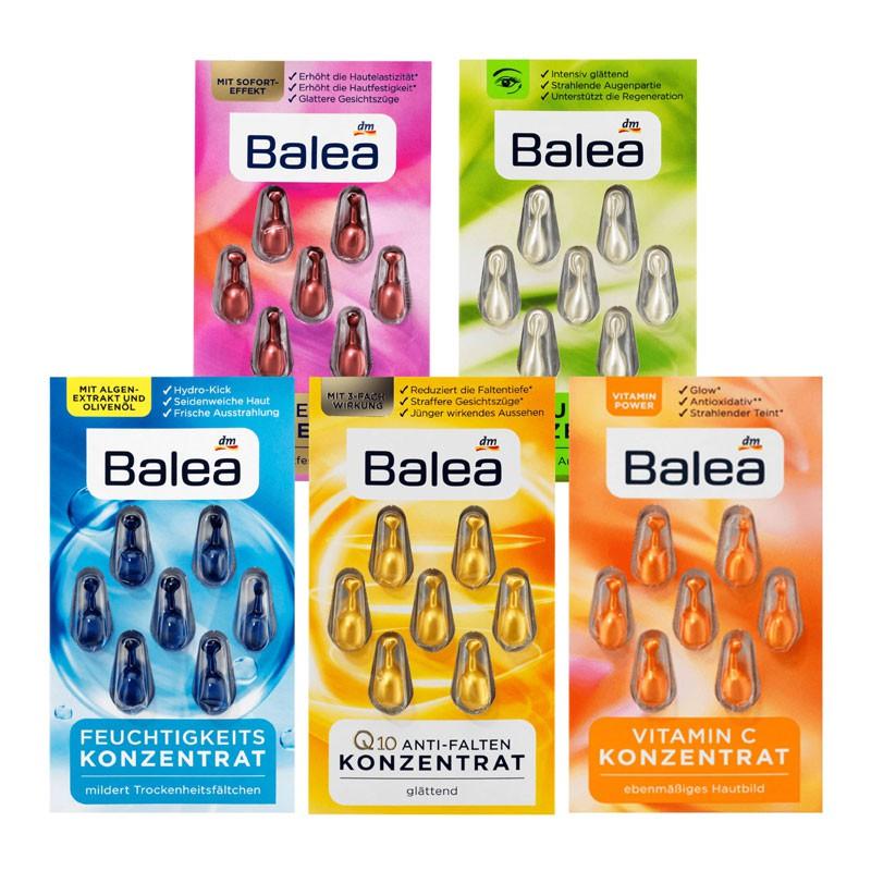 德國 Balea 臉部精華時空膠囊 (7粒裝) 精華 精華液膠囊 時空膠囊精華液