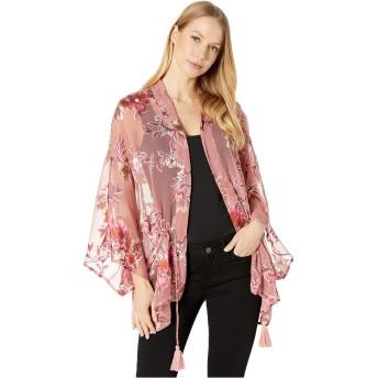 [BCBジェネレーション] レディース シャツ Burnout Blooms Tie-Waist Kimono [並行輸入品]
