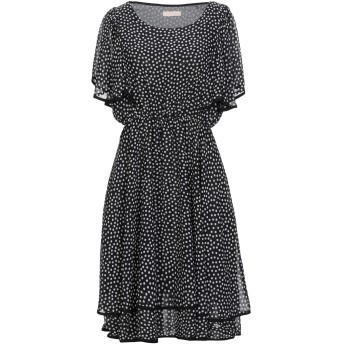 《セール開催中》FLY GIRL レディース ミニワンピース&ドレス ブラック S ポリエステル 100%