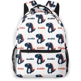 かわいい恐竜スクールバックパックティーンズガールズボーイズキッズスクールバッグブックバッグ
