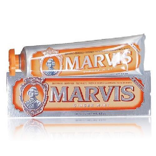 MARVIS 牙膏-85g/條(生薑薄荷-橘)[大買家]
