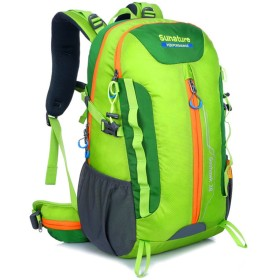 防水 超軽量 登山リュック アウトドアスポーツ愛好家登山アウトドア旅行多機能大容量バックパックナイロン防水ウェアキャンプバックパックサスペンションブラケットスモールバックパック 男女兼用バッグ