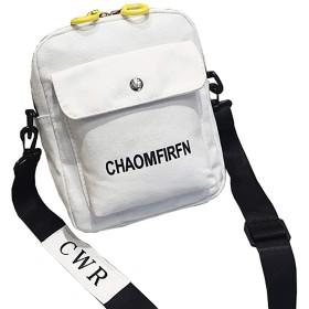GOLWIS ショルダーバック お出かけ 小物入れ ミニバック カジュアルバッグ bag0012(white)