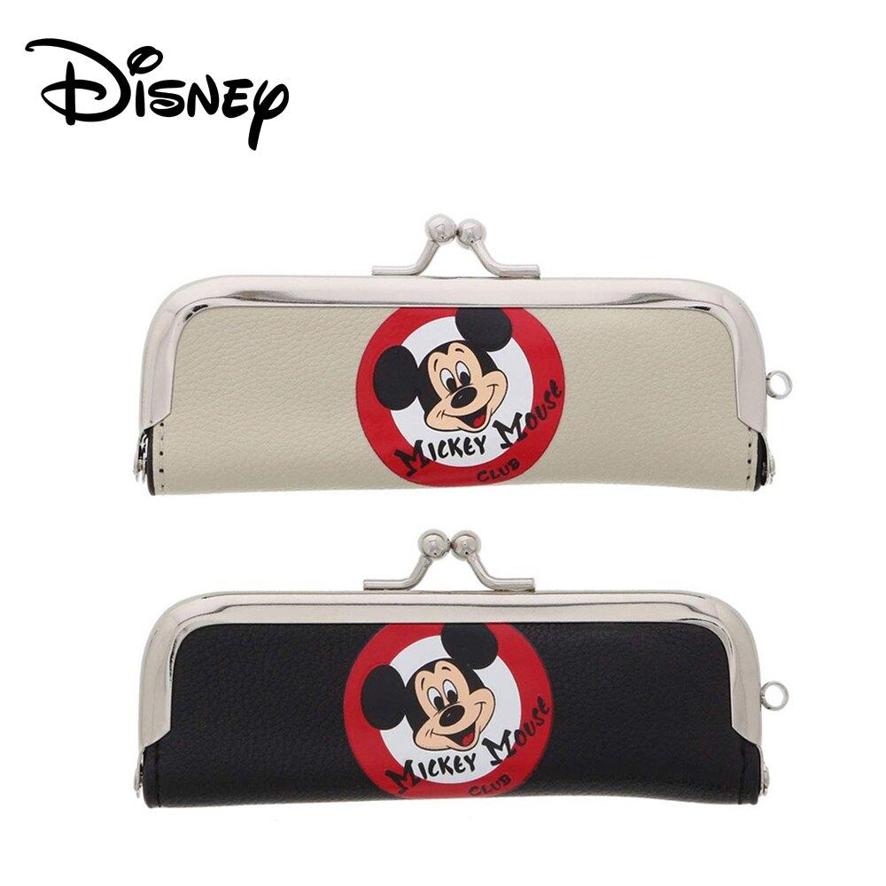 【日本正版】米奇俱樂部 印鑑收納包 附有印台 印章收納 印鑑包 Mickey 迪士尼 Disney