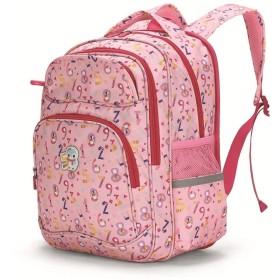 XBSJB 学校の防水本袋の女の子のバックパック、お弁当箱、および袋のための古典的な基本的な旅行バックパック (Color : B)