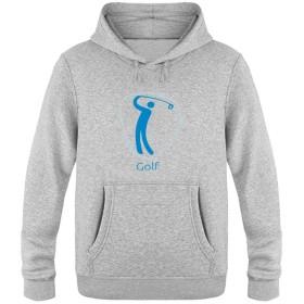 Golf_blue メンズ パーカー フード付 スウェット 長袖トップス 3Dプリント 創意設計 街頭ヒップホップ 男女兼用 春/秋/冬