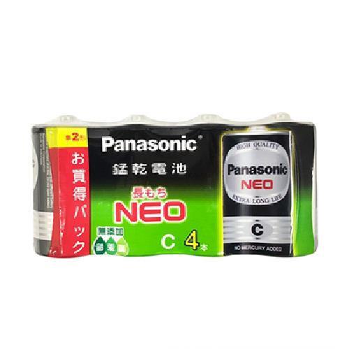 Panasonic 碳鋅電池2號4入[大買家]