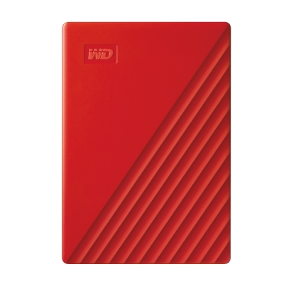 WD My Passport 5TB(紅) 2.5吋行動硬碟