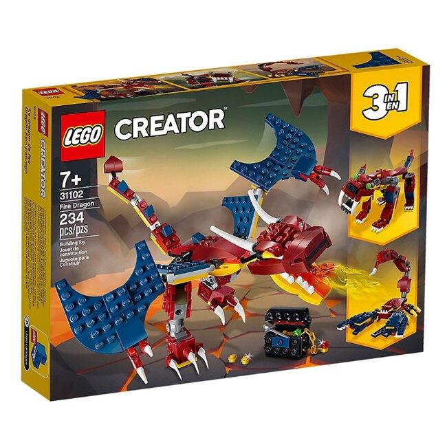 31102【LEGO 樂高積木】創意大師Creator系列-火龍