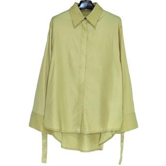 20SS GHOSPELL Idle D-ring Shirt ゴスペル レディース トップス オーバーサイズ ブラウス シャツ 長袖 XS S