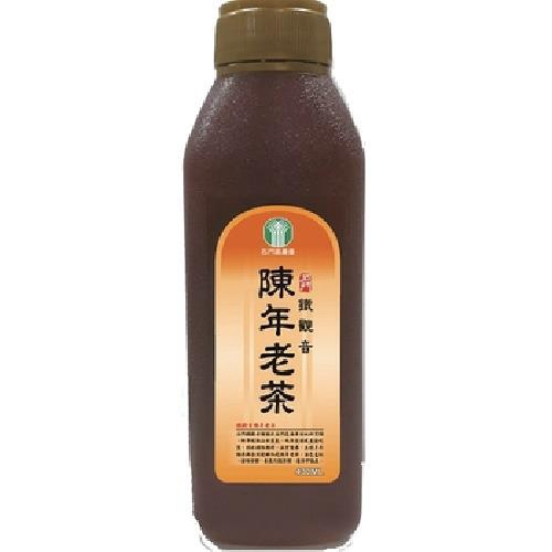 石門區農會 鐵觀音陳年老茶(430ml/瓶)[大買家]