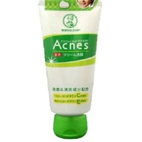 メンソレータム アクネス 薬用クリーム洗顔