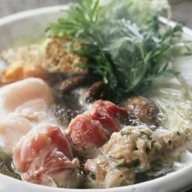 【お歳暮】鶏三和 三和の純鶏 名古屋コーチン水炊き鍋 _冬ギフト