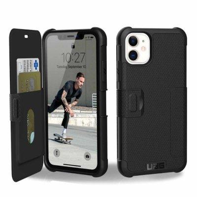 UAG iPhone 11 Pro Max 翻蓋式耐衝擊保護殼 黑