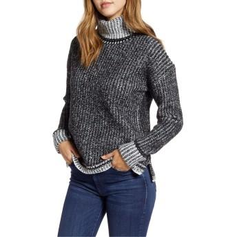 [カスロン] レディース ニット&セーター Caslon Turtleneck Sweater [並行輸入品]