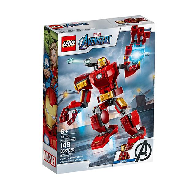 76140【LEGO 樂高積木】Marvel 漫威英雄系列 - 鋼鐵人機甲