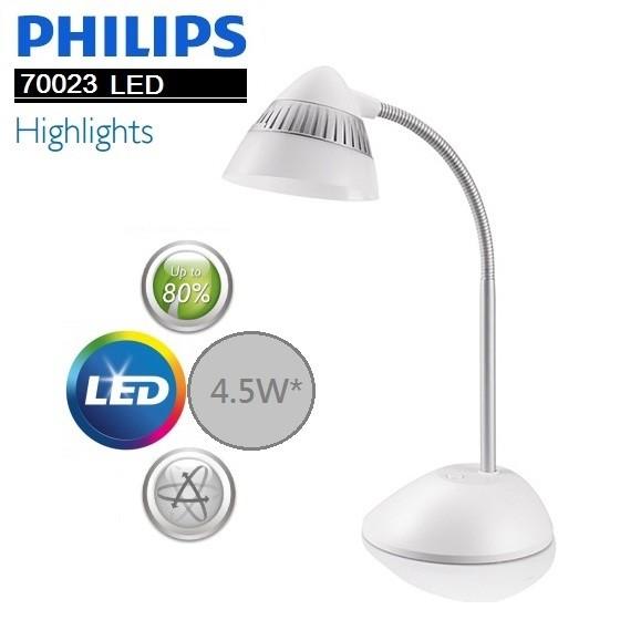 Philips 飛利浦 CAP 酷昊 70023 LED檯燈-白