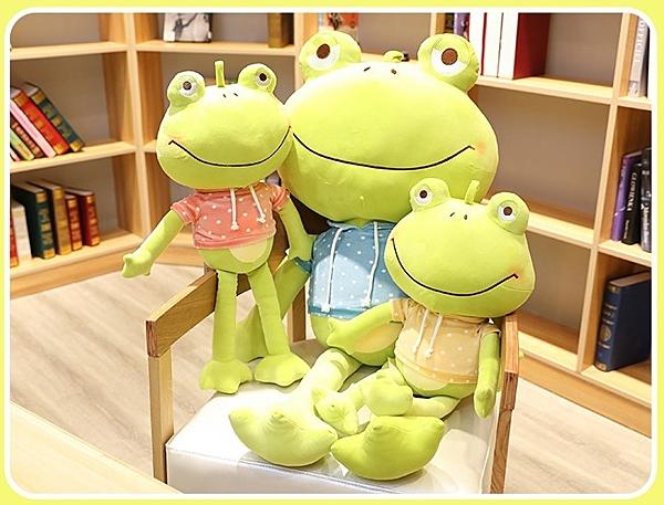 【110公分】青蛙王子娃娃 卡通仿真玩偶 絨毛蛙 生日禮物 聖誕節交換禮物 餐廳布置