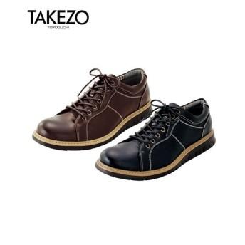 シューズ カジュアル メンズ TAKEZO タケゾー ウォーキング 靴 25/25.5/26/26.5/27cm ニッセン