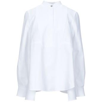 《セール開催中》ALEXANDER MCQUEEN レディース シャツ ホワイト 40 コットン 100%