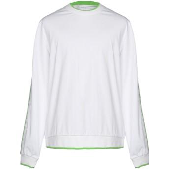 《セール開催中》FUTUR メンズ T シャツ ホワイト L コットン 100%