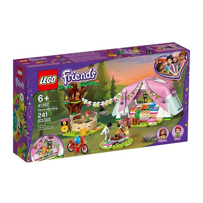41392【LEGO 樂高積木】姊妹淘 Friends 系列 - 大自然豪華露營