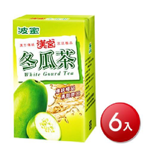 波蜜 漢宮冬瓜茶(250mlX6包/組)[大買家]