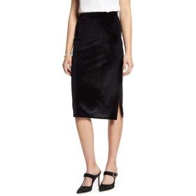 [ハロゲン] レディース スカート Halogen Velvet Stripe Pencil Skirt [並行輸入品]
