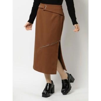 【エヴリス/EVRIS】 ZIPスリットタイトスカート