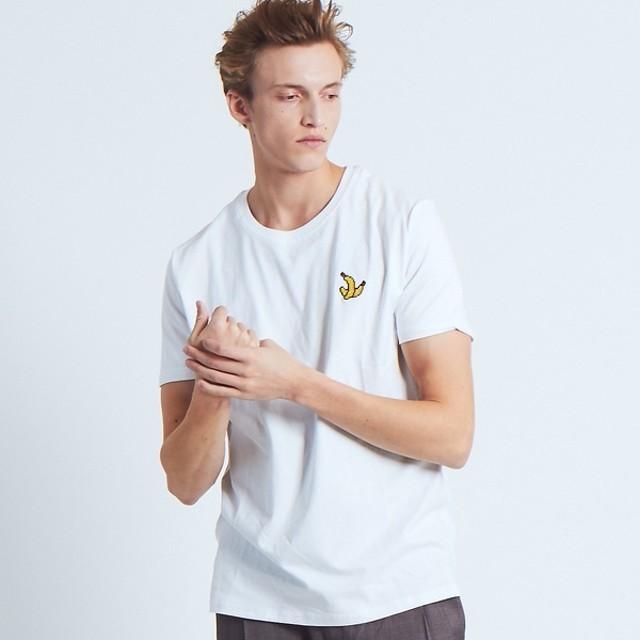 [マルイ]【セール】【BRICKTOWN】ワンポイントTシャツ(BANANAS)/アバハウス(ABAHOUSE)