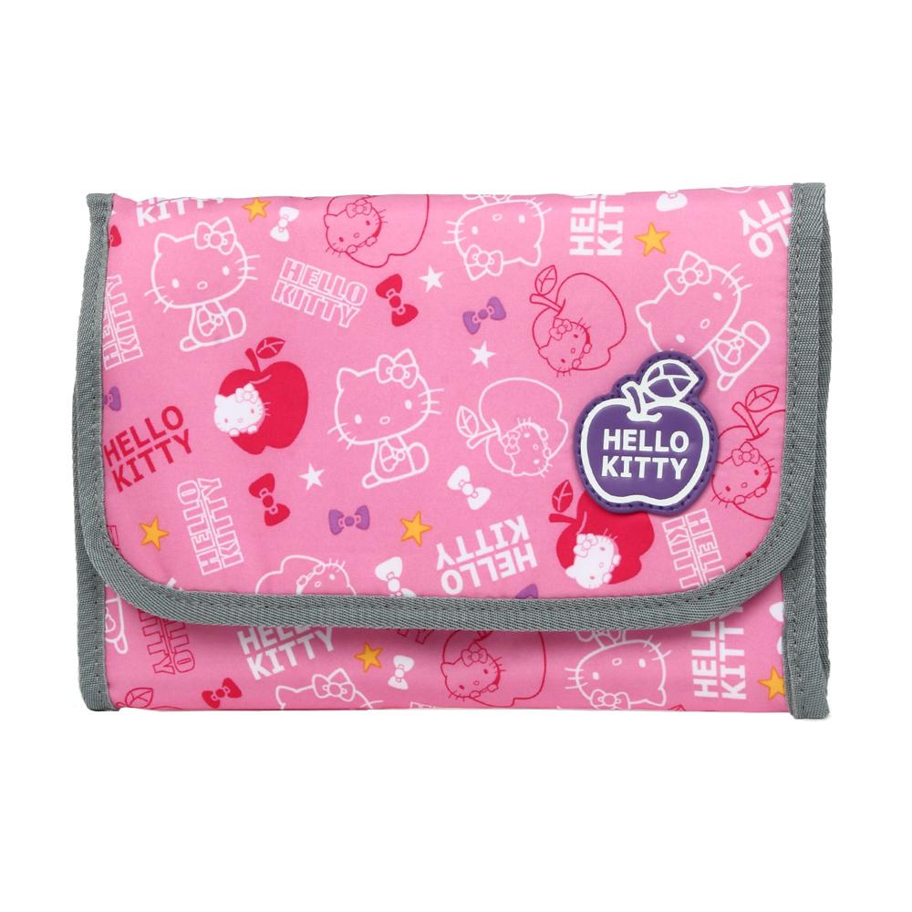 【Hello Kitty】蘋果樂園盥洗袋-粉紅 KT00Q10PK