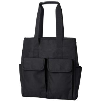 新しいビジネスカジュアルバッグショルダーバッグメンズバッグ大容量防水オックスフォードバッグメンズラップトップバッグ (ブラック)