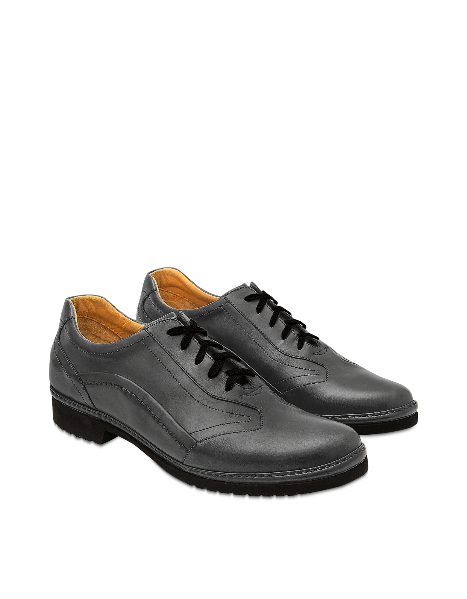 Pakerson 帕克森 鞋履, Smoke意大利手工皮革系带鞋