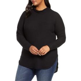 [カスロン] レディース Tシャツ Caslon Thermal Knit Tunic (Plus Size) [並行輸入品]