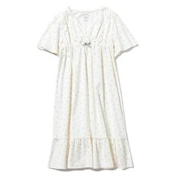 【gelato pique:ワンピース】【KIDS】リトルフラワー kids ドレス